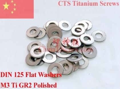 US stock 25pcs M8 Titanium Washers