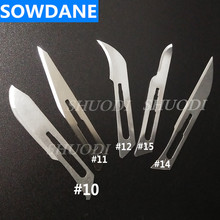 Dental Scalpel Blades For Dental medical Stainless Steel Surgical Blade Surgery Material