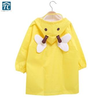 мальчики дождя | Желтый Детский непромокаемый плащ стерео мультфильм стиль мальчики девочки пончо туристический нож фонарик дождевик LZO052-2