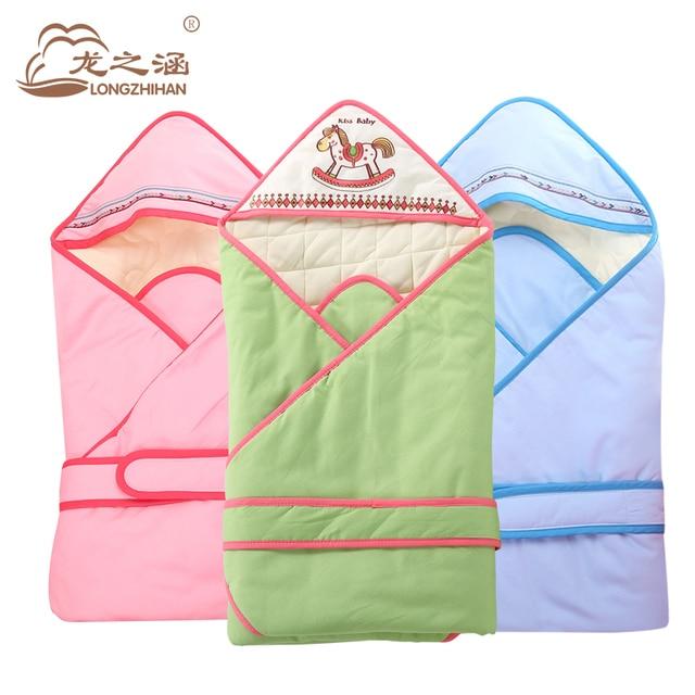 New Baby Sleeping Bag winter Baby Clothing Sets Envelope For Newborns cartoon baby bedding set muslin blanket Cotton sleepsacks