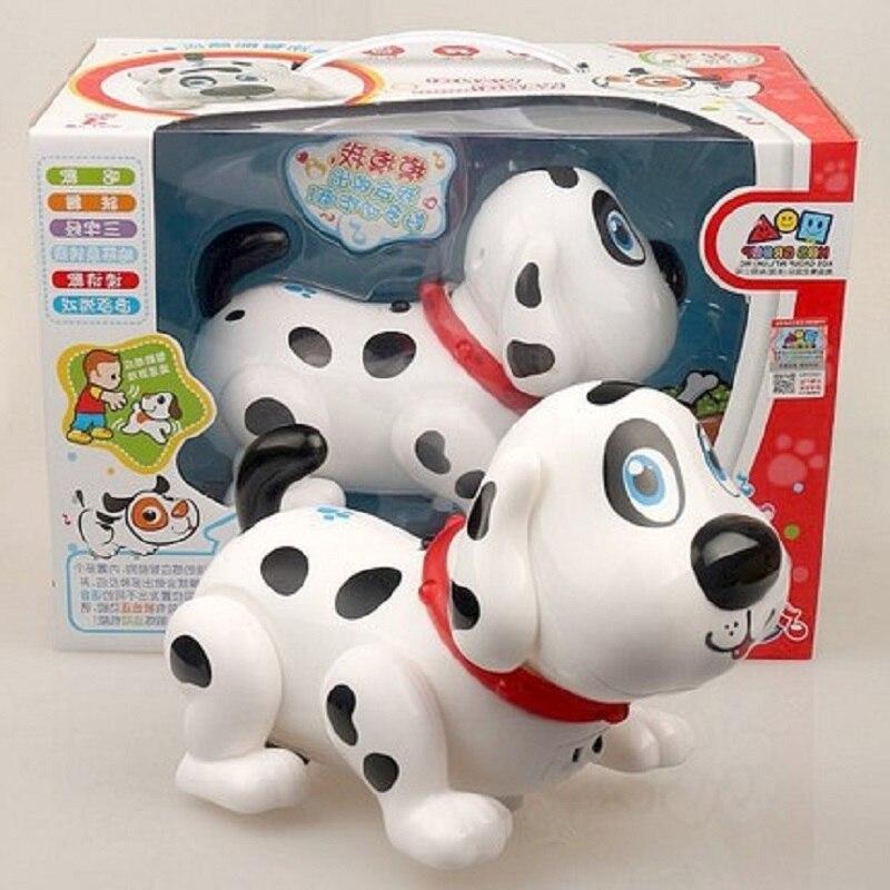 FARFEJI Intelligent Electronic Walking Pet Robot Dog Puppy Baby Friend Partner Gift With Music Light Dog Toys For Children Kids