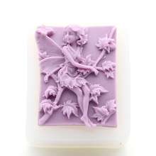 100% Hand Made Silicone Soap Molds Maple Leaf Fairy Pattern Making Mould DIY Rectangle Stand