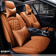 for mitsubishi pajero lancer outlander galant black soft leather car seat cover front and rear set waterproof cover for car seat msc90cas compressor for car mitsubishi lancer