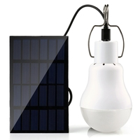 New Solar Outdoor Light 15W 130LM Solar Lamp Portable Bulb Solar Energy Lamp Led Lighting Solar