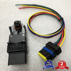 Window Lift Regulator Temic Module and Wiring Cable Connector for Renault Clio Mk3 Megane2 440726