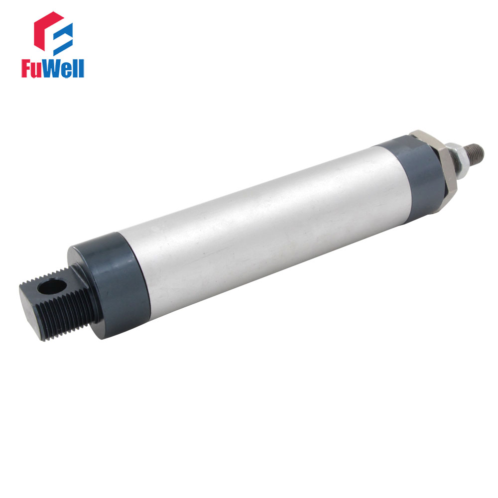 цена на MAL Type 25mm Bore Pneumatic Air Cylinder 25/50/100/125/150/200/250/300mm Stroke Aluminum Alloy Double Acting Air Cyliner
