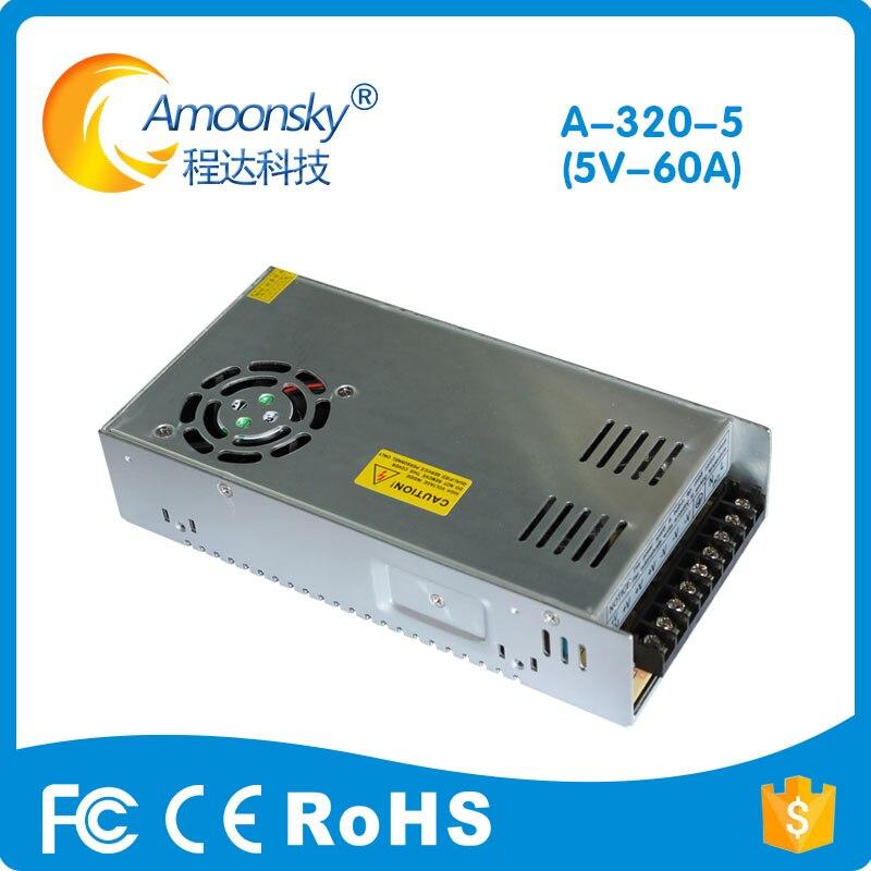 110V 120V 200V 220V Input 5V 60A Out 300W Led Screen Display Power CZCL Brand