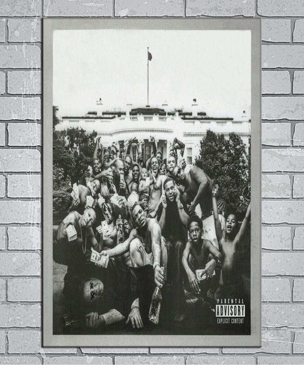 To Pimp A Butterfly Album Cover Poster Giclée Kendrick Lamar