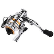 4.3:1 2-Bearing Spinning Fishing Reel Mini Zinc Alloy Fishing Wheel Gear Saltwater fishing reel Sea Fishing Tackle