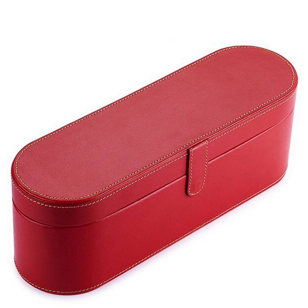 Portable Storage Case Organizer Sensico Magnetic PU Leather Flip Hard Box Travel Case For Dyson Supersonic Hair Dryer