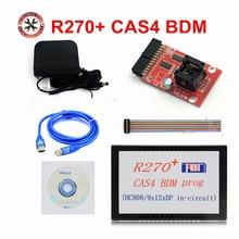 High Quality Auto CAS4 BDM Programmer R270+ V1.20 R270 CAS4 BDM Programmer for bmw key prog free shipping