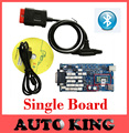 NEWEST single board  new vci cdp pro for cars and trucks , best version as mvd tcs cdp pro with bluetooth and DHL free ship