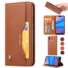 Luxury book flip Case For Xiaomi Redmi 7 Y3 note pro Leather Card wallet Flip Stand Cover redmi y3 case Funda Shell
