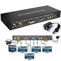 5 шт. SD/HD/3G-SDI Для VGA DVI HDMI Композитный SDI для Всех скейлер Конвертер SDI HD видео в VGA DVI HDMI Box _ DHL