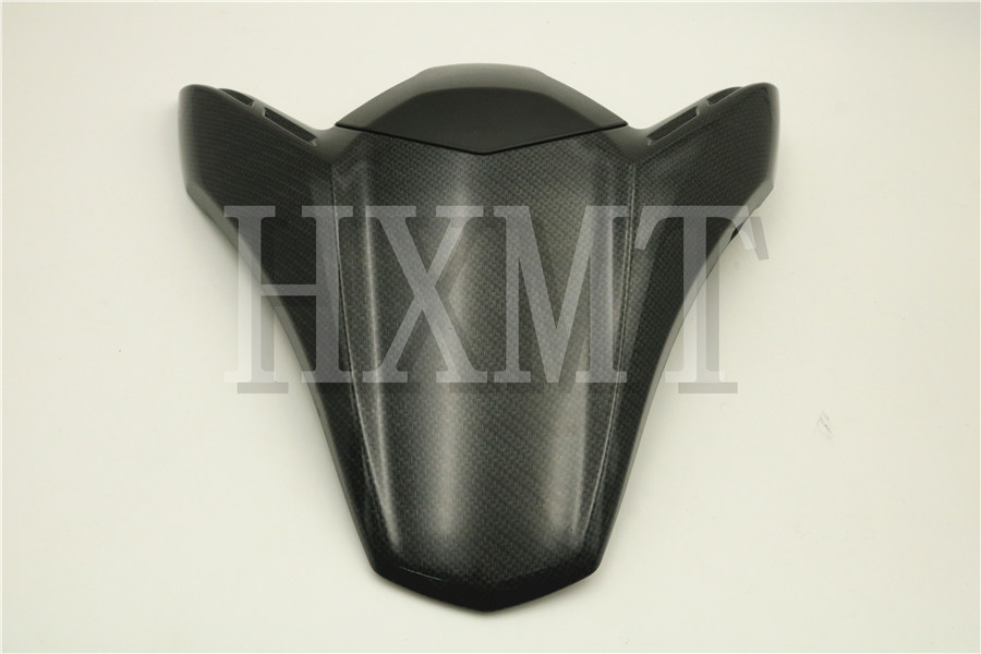 For Kawasaki Ninja Z900 Z 900 2017 2018 Carbon Rear Seat Cover Cowl Solo Moto Seat Cowl Rear Fairing Set 17 18