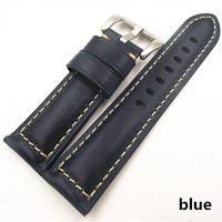 1PCS 20MM 22MM 24MM 26MM Genuine Leather Cow Leather Watch Band Watch Strap Man Watch Straps