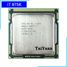 Intel Core I7-875K I7 875K I7 875 2.933 Ghz Quad-Core Acht-Draad Cpu Processor Lga 1156
