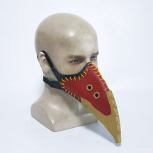 New My Hero Academia Overhaul Mask Cosplay Crow Mouth Plague Doctor Steampunk Birds Beak Masks Halloween Cosplay Costume Props(China)