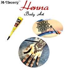 М-Теории Менди Блеск Хны Краска 25 г Менди Временные Татуировки Тела Искусства Flash Татуировки Лето Купальник Бикини Платье макияж Инструмент(China (Mainland))