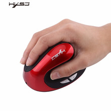 HXSJ X10 Gaming Mouse Rechargeable Battery USB Wireless Optical Vertical Game Mice For Pro Gamer