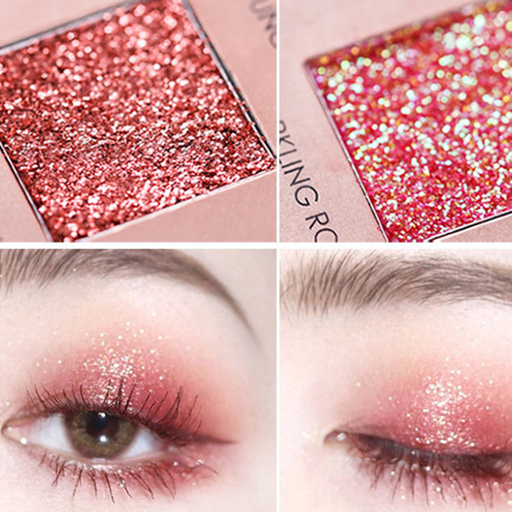 16 Color Eye Shadow Desert Rose Matte Pearlescent Eye Shadow Disc in Eye Shadow from Beauty Health