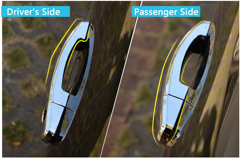 For Opel Corsa E Chrome Door Handle Covers Trim Set Vauxhall OPC VXR All Model 2015 2016 Car Accessories Stickers Car Styling-in Chromium Styling from ... & For Opel Corsa E Chrome Door Handle Covers Trim Set Vauxhall OPC VXR ...