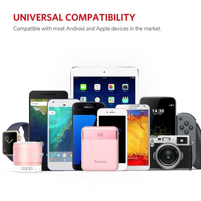 Mini Colorful Mobile Power Bank  4
