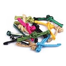 5 пар китайский узел Кнопки для китайское платье-Ципао, винтажное, в полоску, с пряжкой, декоративные пуговицы ручной работы в стиле эпохи Тан костюм аксессуары для одежды