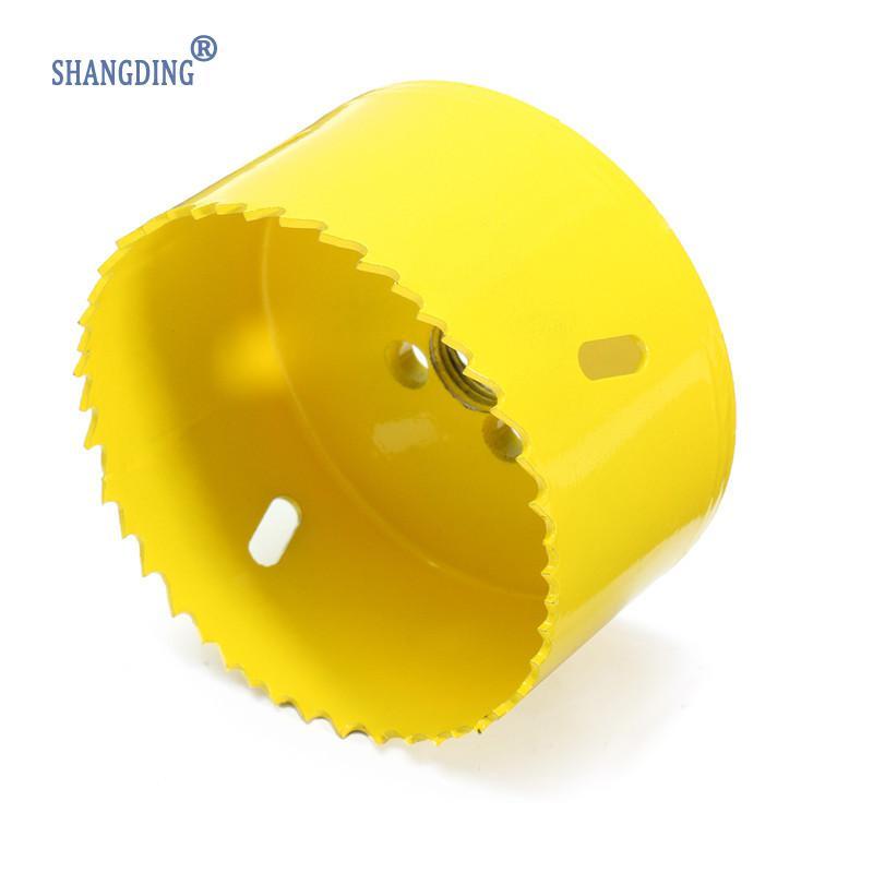 80 mm vysokorychlostní ocel M42, žlutá kovová dírová pila, - Vrták - Fotografie 4