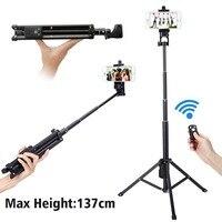 Ulanzi 3 In 1 Yunteng Selfie Stick Tripod Stand Super Light Weight Mini Bluetooth Remote Control