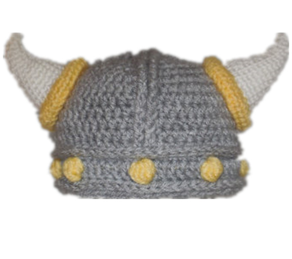 Crochet Baby Hat Crochet Baby Beanie Baby Viking Hat Baby Boy