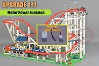 Новый двигатель Мощность функция горки fit legoings создатель города техника рисунках строительный блок кирпич 10261 diy игрушки подарок