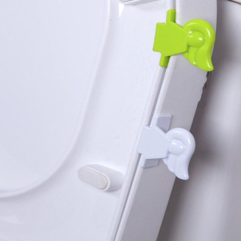 Toilet Cover Handle Bath Portable Sanitary Toilet Seat Cover Lifter ...