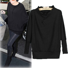 New Arrival Sweaters Pullovers 2016 Autumn Women Casual O Neck Long Sleeve Knitted Button Solid Sweaters Pullovers Blouse Tops