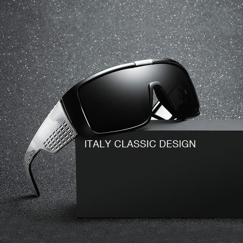 2019 New Dragon Domo Brand Designer Sunglasses For Men Sport Sun Glasses Oversized Frame Coating Glases With Box
