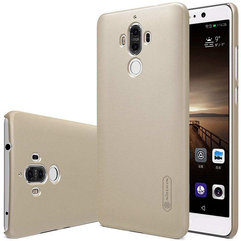 Untuk Huawei Mate 9 kasus Nillkin Frosted Perisai Keras Slim Matte - Aksesori dan suku cadang ponsel - Foto 3