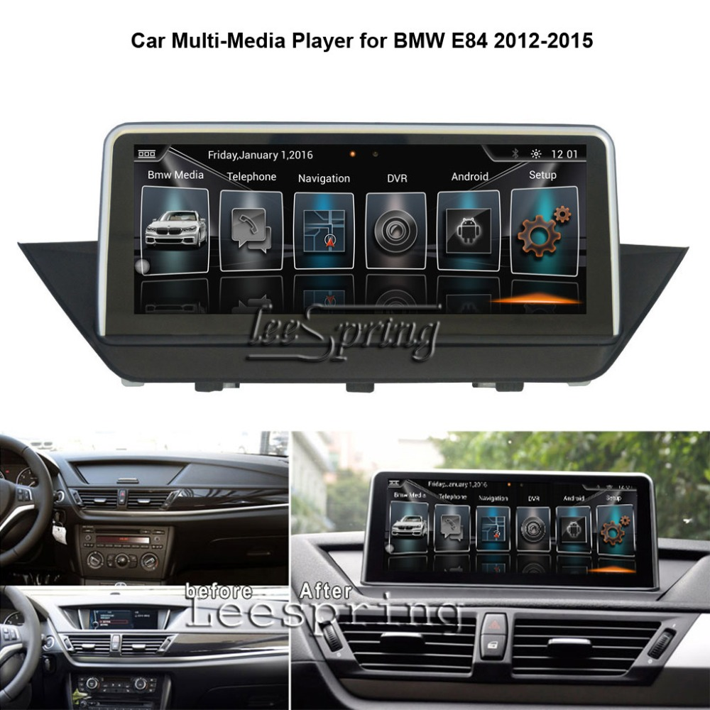 10.25 inch Car Multimedia Player for BMW X1 E84 2012-2015 with GPS Navigation MP5 Wifi (NO DVD)