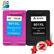 2 PK Compatible Para HP 901 XL cartuchos de Tinta con chip, para hp 901xl para HP J4500, 4540,4550, los modelos de impresoras J4580