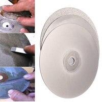 New 3Pcs 150mm 6 Inch Diamond Grinding Wheel Grit 120 400 1200 Flat Lap Disk Wheel