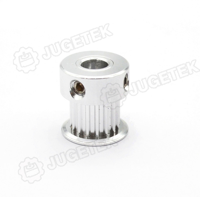 High quality GT2 Pulley 16 Teeth 5mm Bore for 6mm width belts for 3D Printer Part GT2 Timing Pulley