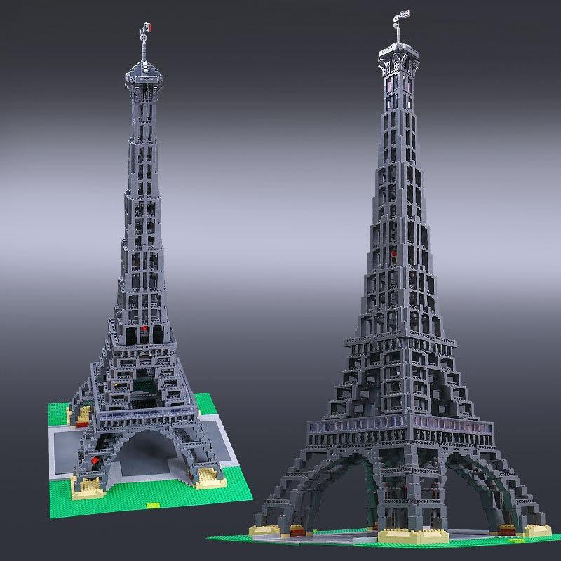 L Models Building toy Compatible with Lego L17002 3478PCS Eiffel Tower Blocks Toys Hobbies For Children Model Building Kits 2018 newest lego blocks building children toy funny lego model building baby starting toys colorful blocos de construcao 10712