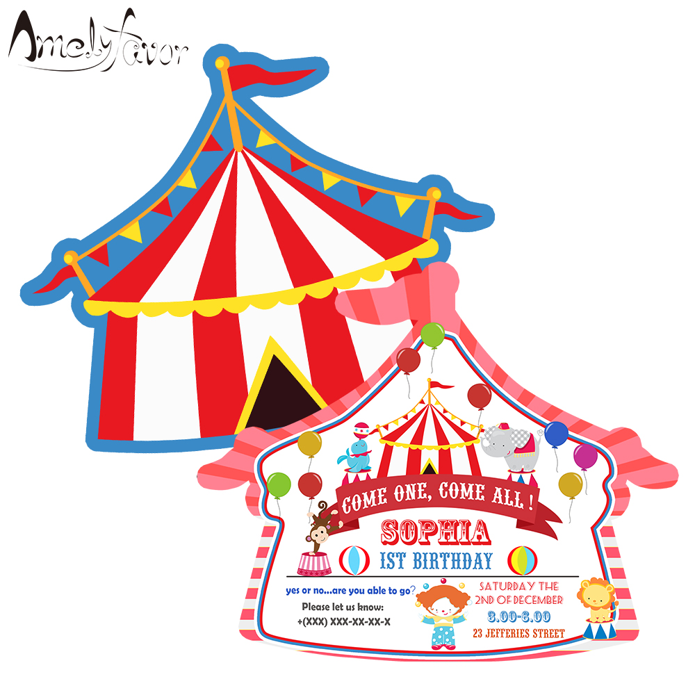 Party Supplies Circus Animals