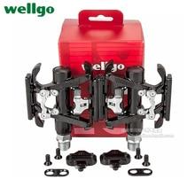 WellGo Brand Ultralight Road Bike Pedals Mountain Bike Pedals Aluminum Alloy