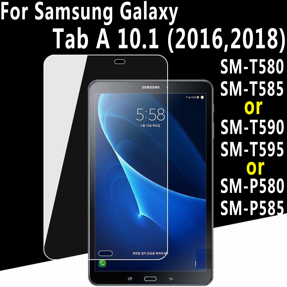 Premium Tempered Glass for Samsung Galaxy Tab A A6 10.1 2016 2018 T580 T585 SM-T580 SM-T585 T590 T595 P580 P585 Screen Protector цена