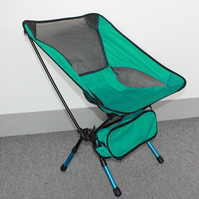NOVO Leve Pesados Liga de Alumínio Assento Fezes Cadeira Dobrável Para Camping Caminhadas Pesca Jardim CHURRASCO com Saco de Transporte