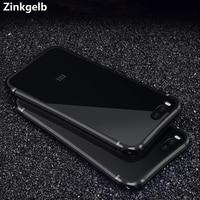 For Xiaomi Mi 6 Case Cover Luxury Bling Slim Hard Metal Aluminum Frame Protective Armor Phone