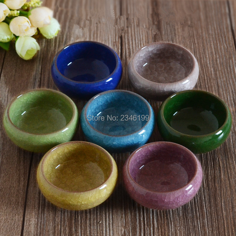 Glass Glaze Essential Oil Bowl SPA Beauty Salon Mix Dish Makeup Tools Small Teacup Cuenco de Los Aceites Esenciales Taza de Te