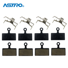 4 Pair/lot Bike Disc Brake Pad Resin Semi Metallic MTB Road Bicycle Pads For SHIMANO M615 M666 M675 M785 M985 M988