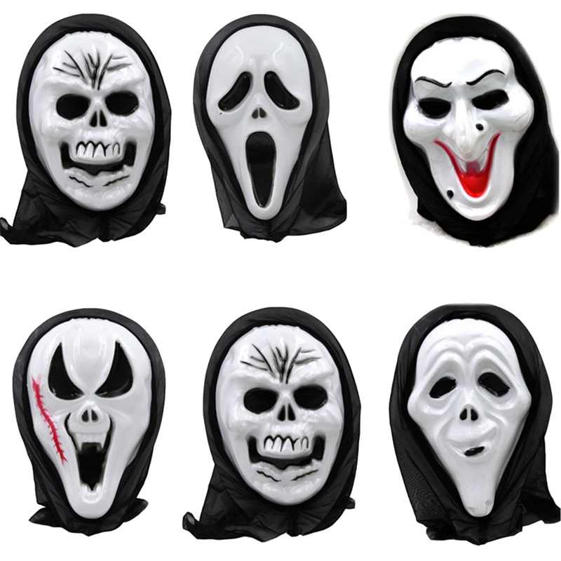 Death Final Destination Scream Skull Ghost Mask Fake Face Multi-shape Scary Halloween Cosplay Masquerade Supplies Freeshipping