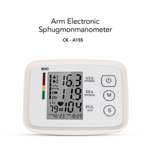 Image 2 - Oliecoスマート自動アーム血圧モニターbp血圧計圧力計計眼圧計家族の健康ケアモニター